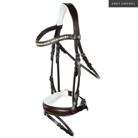 Horze monroe bridle-Brown-Horse