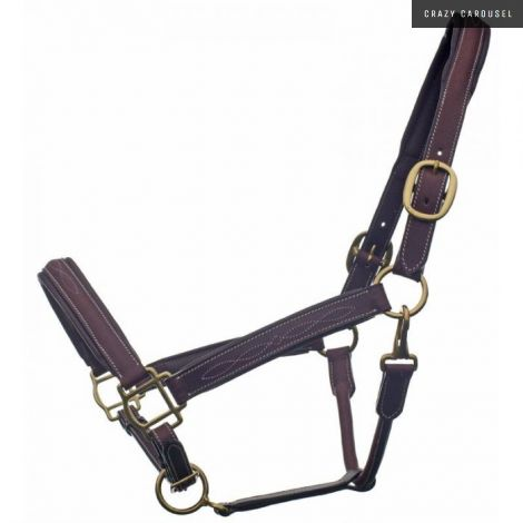 Leather halter 1248