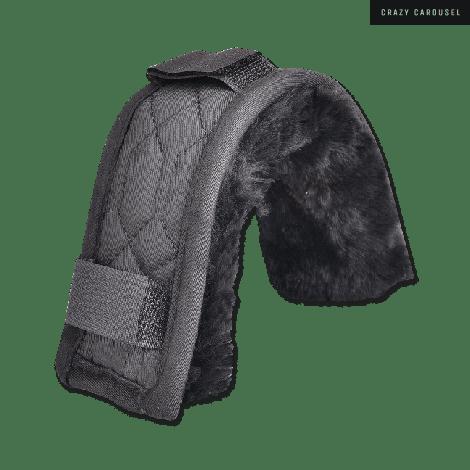 Sheepskin fuzzy with velcro