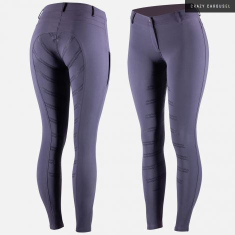 Horze purple ada full seat breeches