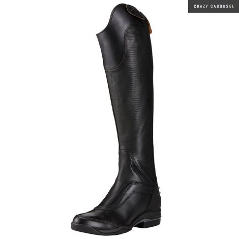 Ariat v sport tall boots 8 Xwide reg height