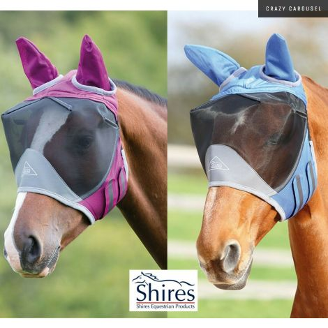 Shires deluxe fly mask