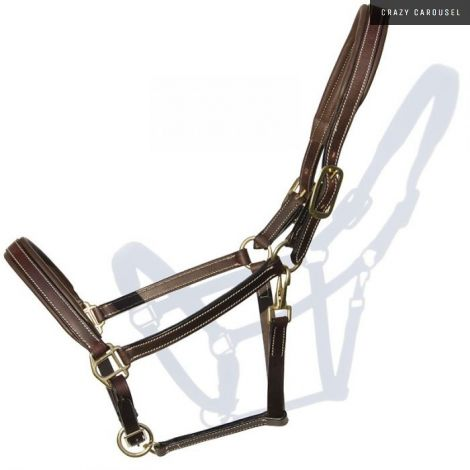 Leather halter 55302