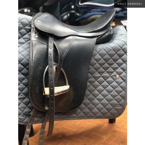 Palleton dressage saddle 17'' wide