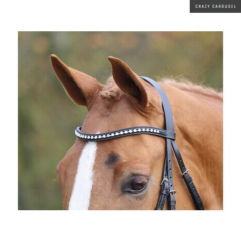 Aviemore Large Diamanate Browband
