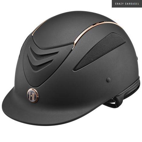 One K Defender Rode Gold Stripe Helmet