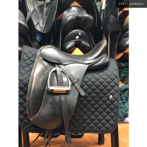 "17.5"" W Barnsby Dressage Saddle"