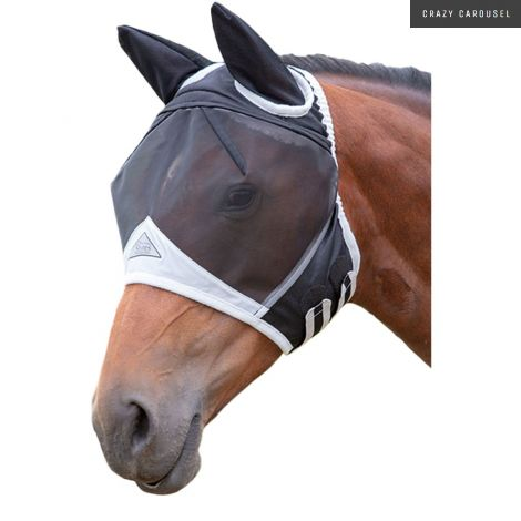 Fly mask shires fine mesh-2