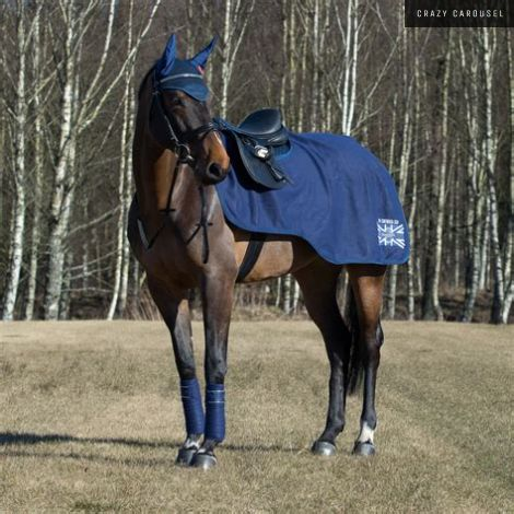 Horze supreme fleece riding rug LARGE