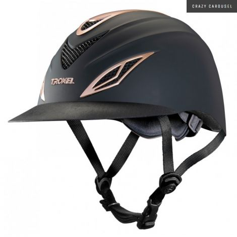 Troxel avalon rose gold edition helmet