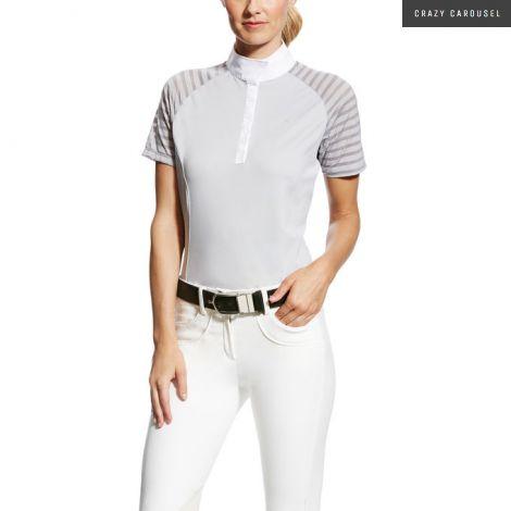 Ariat aptos vent show shirt-gray