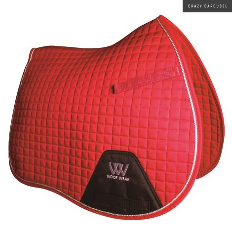 Tapis de selle GP Woof Wear - Rouge royal