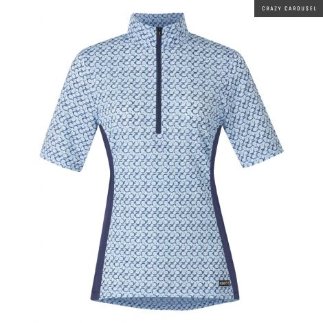 Chandail Kerrits Cool Ride manche courte - Bleu