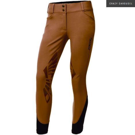 Struck Pants Serie 55 in Henna