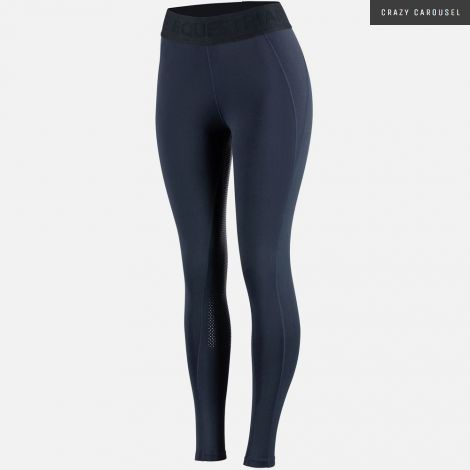 Horze madison full seat silicone tights dark navy