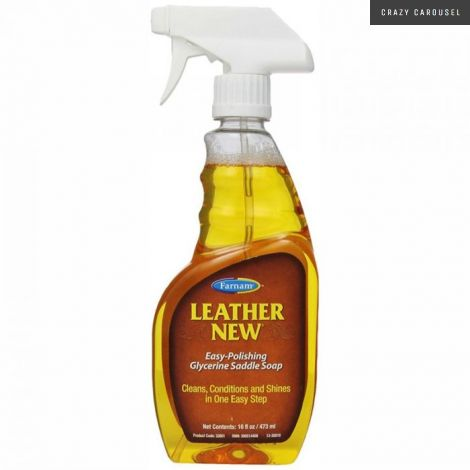 Leather new soap 473 ml
