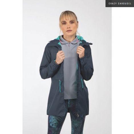 Manteau de pluie Aubrion couleur marine