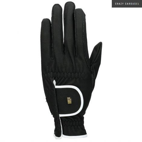 Roeckl white-black gloves