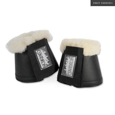 eskadron sheepskin bell boots
