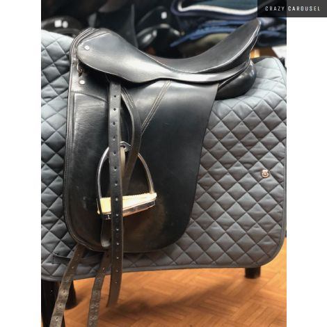 Palleton dressage saddle 17'' wide