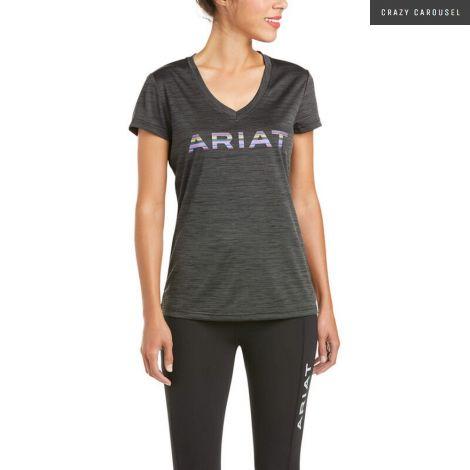 Ariat chandail logo en charbon
