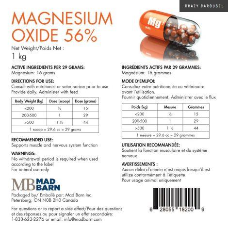 Oxide de magnesium par Mad Barn