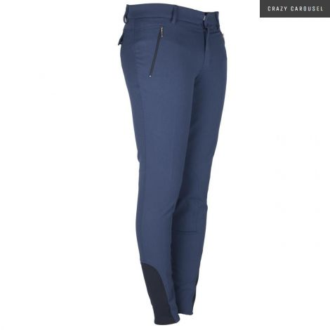 BR Teak Men's Breeches Midnight Blue