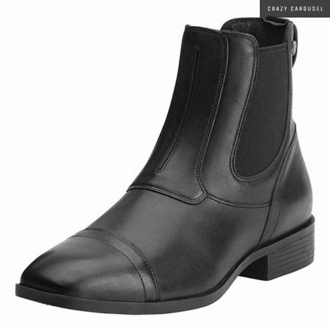 ariat pull on square toe paddock boots