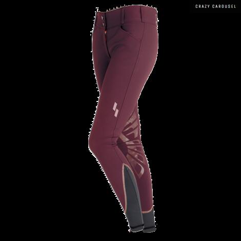 Pantalons Struck Serie 55 en couleur Merlot