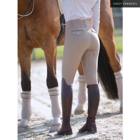 Pantalon siège renforcé Zoe PS of Sweden beige